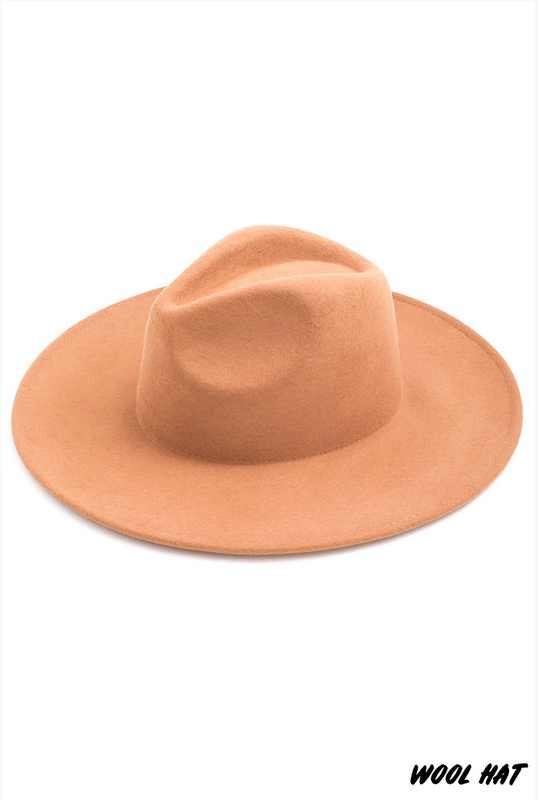 Havanna tan wool hat - The Catalyst Mercantile