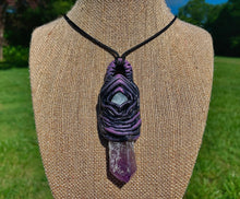 Load image into Gallery viewer, Etherial Amethyst Pendant - The Catalyst Mercantile