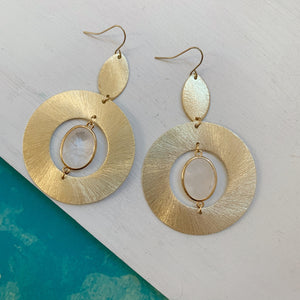 Quartz Hoops - The Catalyst Mercantile