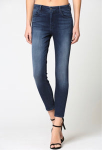 Amelia Skinny Dark Wash Denim Jeans