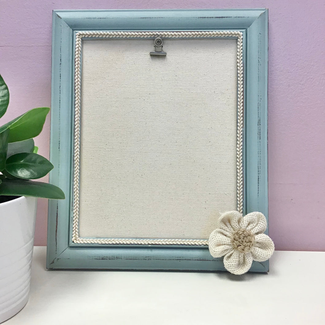 Large Farmhouse Seafoam Picture Frame - The Catalyst Mercantile