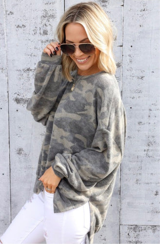 Cloudwalk Camo Sweatshirt