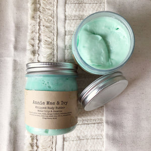 Water Lily & Jasmine Whipped Body Butter - The Catalyst Mercantile
