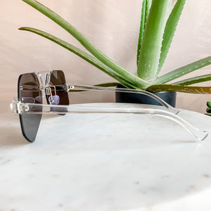 Oversized Holographic Lens Sunglasses
