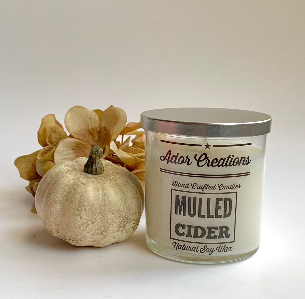 Mulled Cider Soy Wax Candle