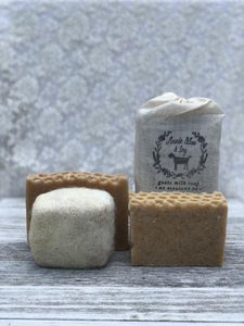 Oatmeal, Milk & Honey Goats Milk Soap - The Catalyst Mercantile