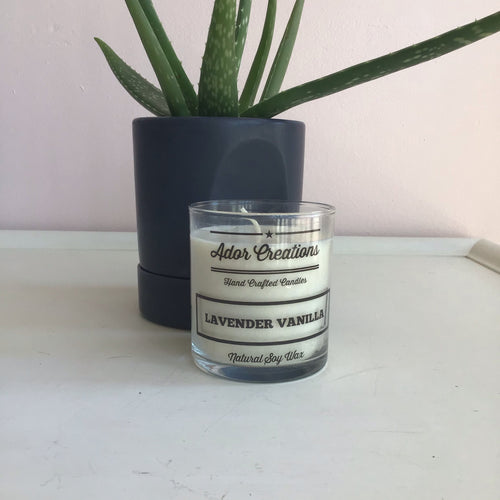 Lavender Vanilla Candle - The Catalyst Mercantile