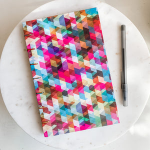 Digital Print Hand Bound Journal