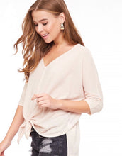 Load image into Gallery viewer, Soft Cream Waffle Knit Top
