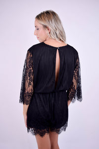 Giola Lace Romper - The Catalyst Mercantile