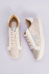Metallic Beige All Star Sneakers