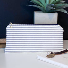 Load image into Gallery viewer, Magnolia Stripe Zipper Pouch - The Catalyst Mercantile