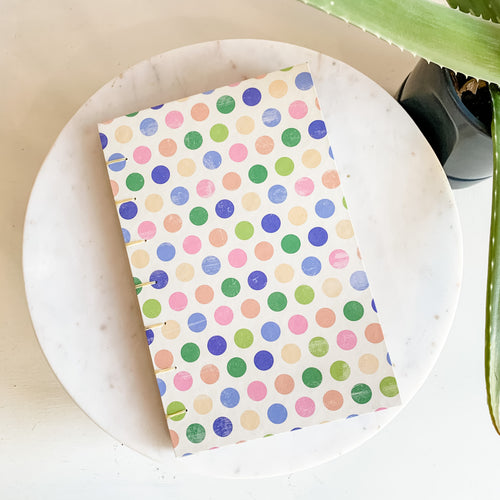 Spring Confetti Hand Bound Journal