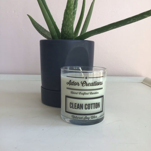 Clean Cotton Candle - The Catalyst Mercantile