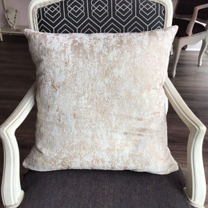 Champagne Marble Pillow Cover - The Catalyst Mercantile
