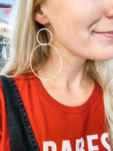 Load image into Gallery viewer, Mega Hoop Gold Fill Earrings