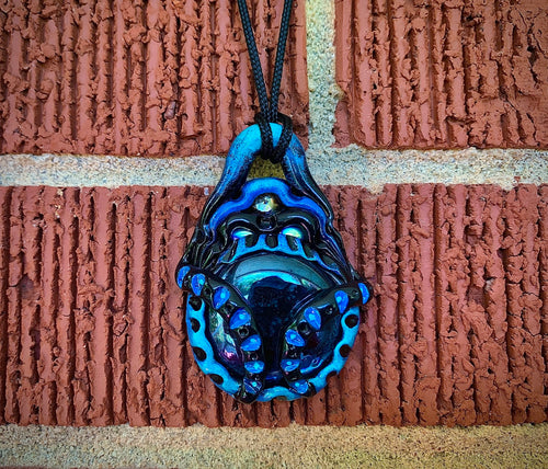 Gaussian Blue Pendant - The Catalyst Mercantile