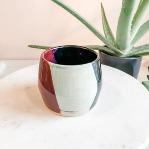 Medium Hand Thrown Ceramic Planters