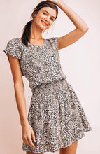 Load image into Gallery viewer, Serengeti Mini Cheetah Print Dress - The Catalyst Mercantile