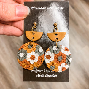 Cece Clay Earrings