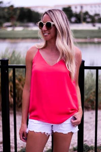 Watermelon Punch Dressy Tank - The Catalyst Mercantile