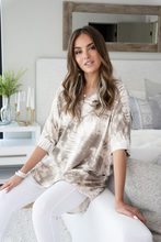 Load image into Gallery viewer, Splash of Chill Oversized Tie Dye Tunic