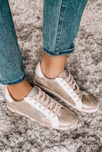 Load image into Gallery viewer, Metallic Beige All Star Sneakers