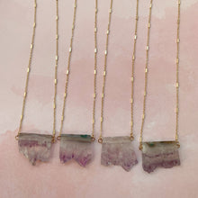 Load image into Gallery viewer, Amethyst Long Dainty Necklace - The Catalyst Mercantile