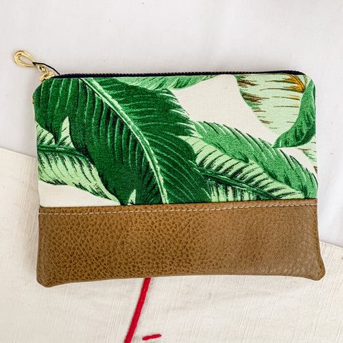 Swaying Palms Zipper Pouch