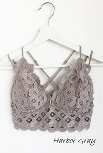 Rosarita Lace Bralette - The Catalyst Mercantile