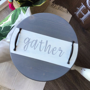 Gray Gather Tray - The Catalyst Mercantile