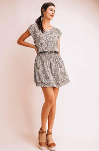 Serengeti Mini Cheetah Print Dress - The Catalyst Mercantile