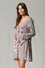 Load image into Gallery viewer, Desert Rose Long Sleeve Dress - The Catalyst Mercantile