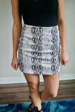 Load image into Gallery viewer, Snakeskin Skirt
