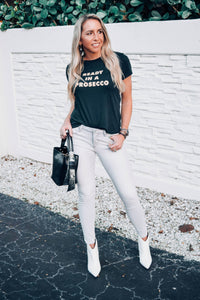 Ready In A Prosecco Tee - The Catalyst Mercantile