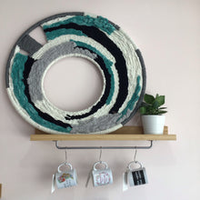 Load image into Gallery viewer, Hand Woven Macrame Wall Hoop - The Catalyst Mercantile