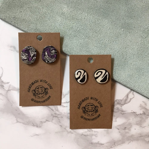 Sugar Cane Studs - The Catalyst Mercantile
