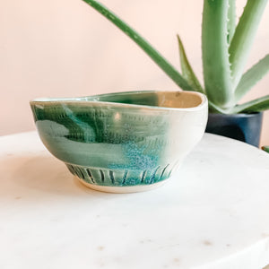 Small Hand Thrown Ceramic Planters