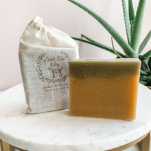 Load image into Gallery viewer, Cactus Flower & Jade Goats Milk Soap