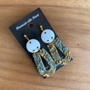 Destiny Clay Earrings