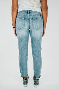 Taylor Distressed Boyfriend Jeans - The Catalyst Mercantile