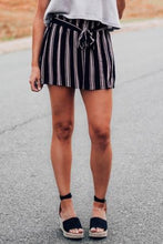 Load image into Gallery viewer, Come On Over Striped High Waist Short - The Catalyst Mercantile