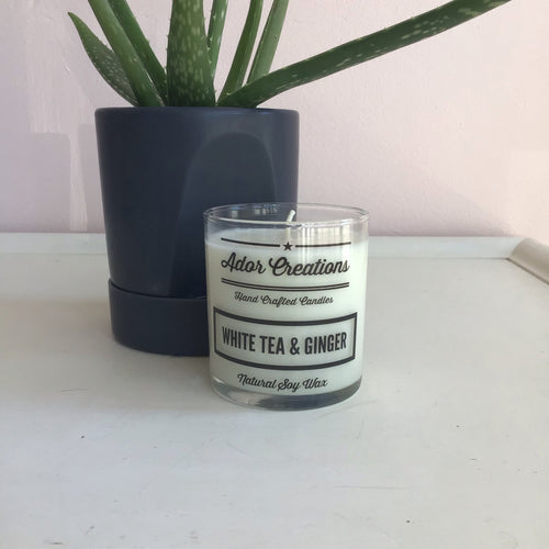 White Tea & Ginger Candle - The Catalyst Mercantile