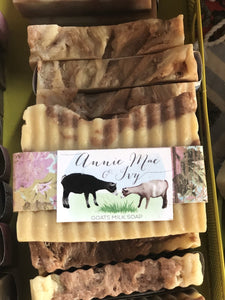 Heavy Clay Goats Milk Soap - The Catalyst Mercantile