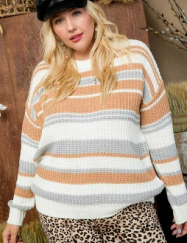Rayna Colorblock Sweater
