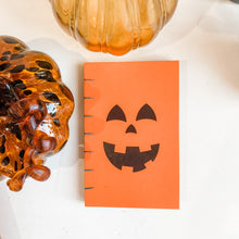 Load image into Gallery viewer, Jack-O-Lantern Hand Bound Journal