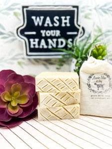 Gardenia Goats Milk Soap