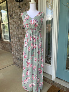 Whitney Floral Maxi - The Catalyst Mercantile