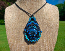 Load image into Gallery viewer, Gaussian Blue Pendant - The Catalyst Mercantile