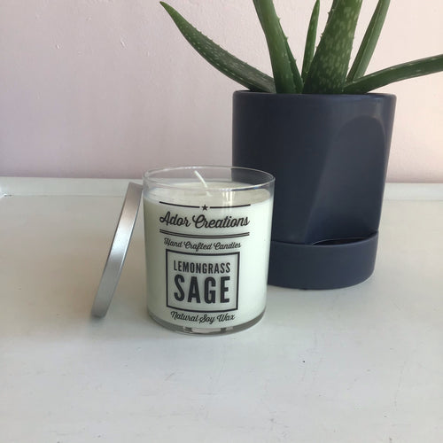Lemongrass Sage Candle - The Catalyst Mercantile